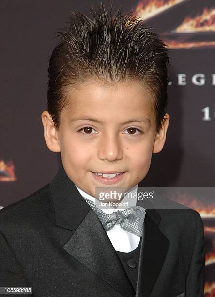 Adrian Alonso during 'The Legend of Zorro' Los Angeles Premiere Arrivals at Orpheum Theatre in Los Angeles California United States