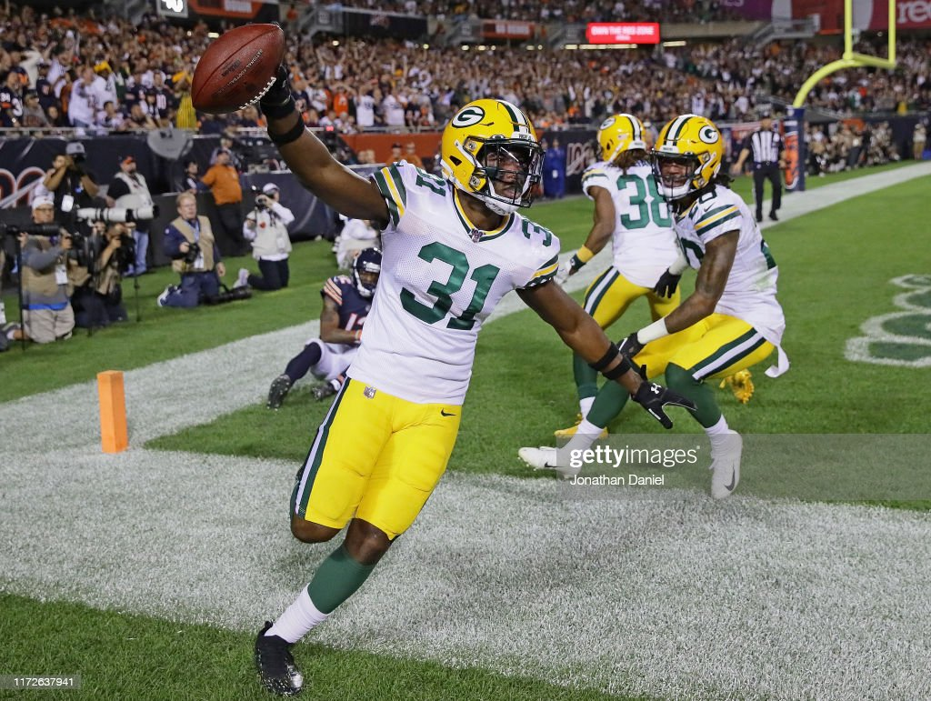 Green Bay Packers v Chicago Bears : Foto jornalística
