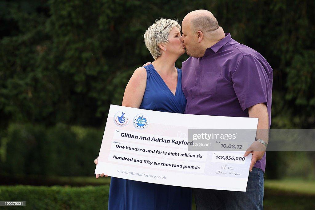 Suffolk Couple Win £148m In EuroMillions Draw : News Photo