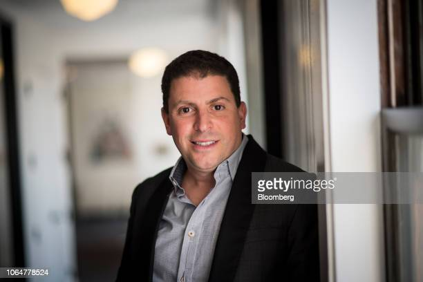 Adrian Aoun founder and chief executive officer of GoForward Inc stands for a photograph following a Bloomberg Technology Television interview in San...
