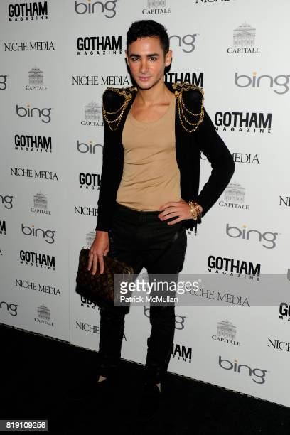 Adrian attends ALICIA KEYS Hosts GOTHAM MAGAZINES Annual Gala Presented by BING at Capitale on March 15 2010 in New York City