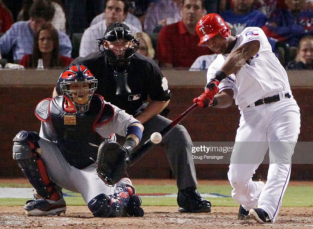 2011 World Series Game 5 - St Louis Cardinals v Texas Rangers