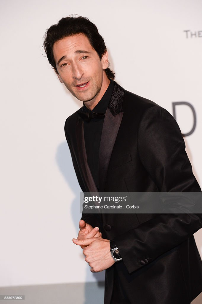 Adrian Brody at the amfAR's 21st Cinema Against AIDS Gala at Hotel du Cap-Eden-Roc during the 67th Cannes Film Festival