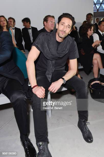 Adrian Brody attends Fashion for Relief Cannes 2018 during the 71st annual Cannes Film Festival at Aeroport Cannes Mandelieu on May 13 2018 in Cannes...