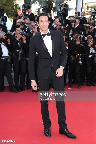 Adrian Brody attends the Ismael's Ghosts screening and Opening Gala during the 70th annual Cannes Film Festival at Palais des Festivals on May 17...