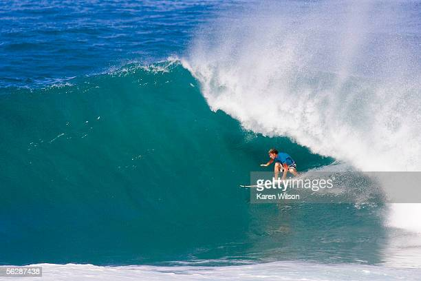 Adrian Buchan of Queensland Australia competes during the O'Neill World Cup Of Surfing part of the Vans Triple Crown of Surfing on November 28 2005...