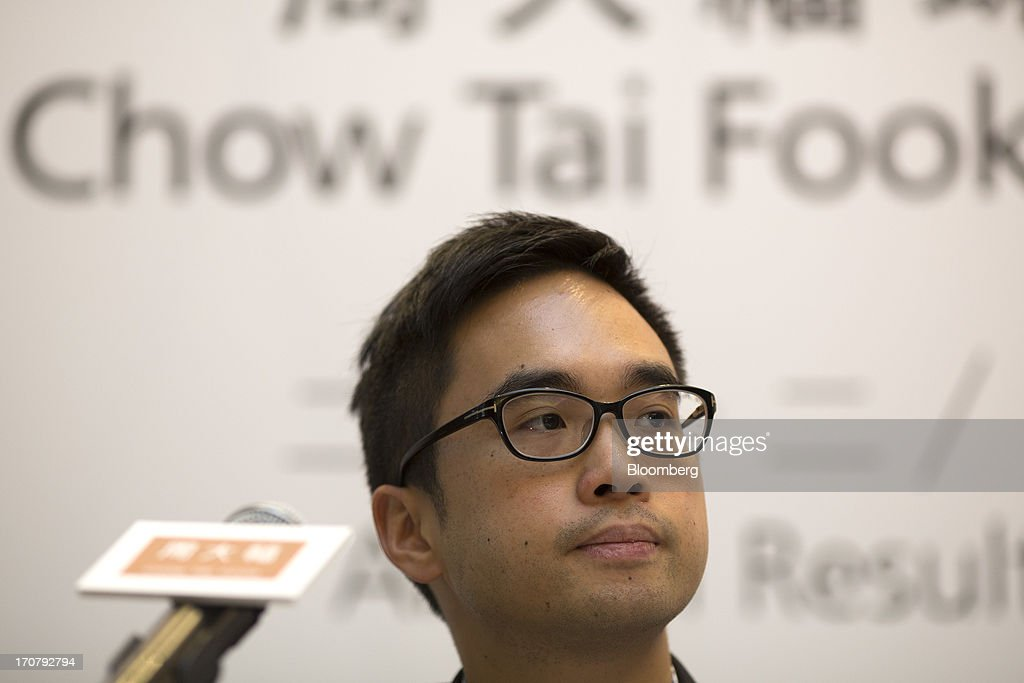 Chow Tai Fook Releases Earnings : News Photo