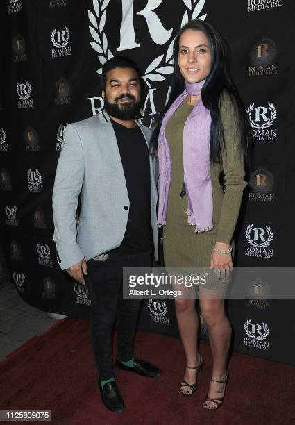 Adrian Dev and Kristi Tucker arrive for Roman Media's 5th Annual Hollywood Event A Celebration of Women and Diversity in Film held at St Felix on...