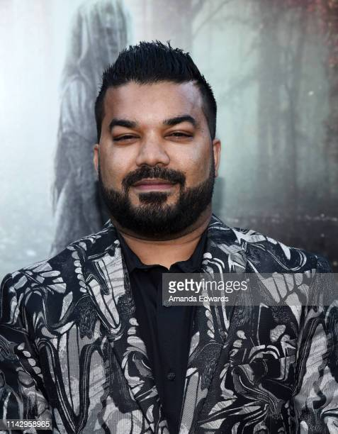 Adrian Dev arrives at the premiere of Warner Bros' The Curse Of La Llorona at the Egyptian Theatre on April 15 2019 in Hollywood California