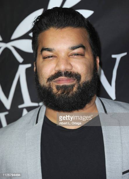 Adrian Dev arrives for Roman Media's 5th Annual Hollywood Event A Celebration of Women and Diversity in Film held at St Felix on February 18 2019 in...