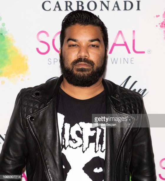 Adrian Dev arrives to QYKSONIC's 'The Beauty Revolution' New Product Launch Event on November 08 2018 in Los Angeles California
