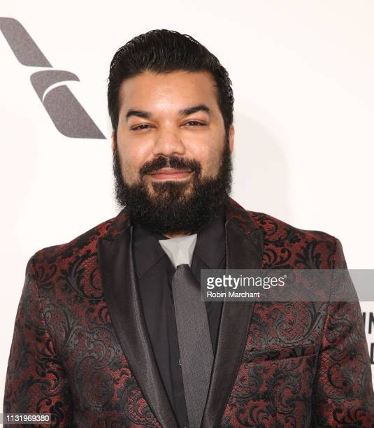 Adrian Dev attends 27th Annual Elton John AIDS Foundation Academy Awards Viewing Party Celebrating EJAF And The 91st Academy Awards on February 24...