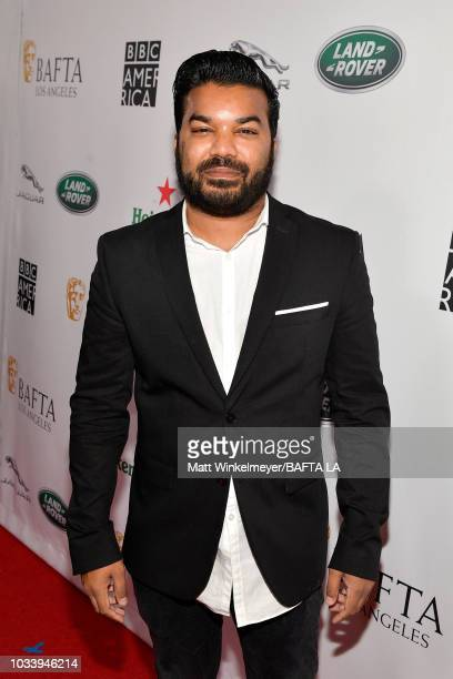 Adrian Dev attends BAFTA Los Angeles BBC America TV Tea Party 2018 at The Beverly Hilton Hotel on September 15 2018 in Beverly Hills California