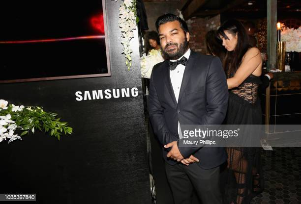 Adrian Dev attends Celebrating the Culture Powered by Samsung Galaxy at Avenue on September 17 2018 in Los Angeles California