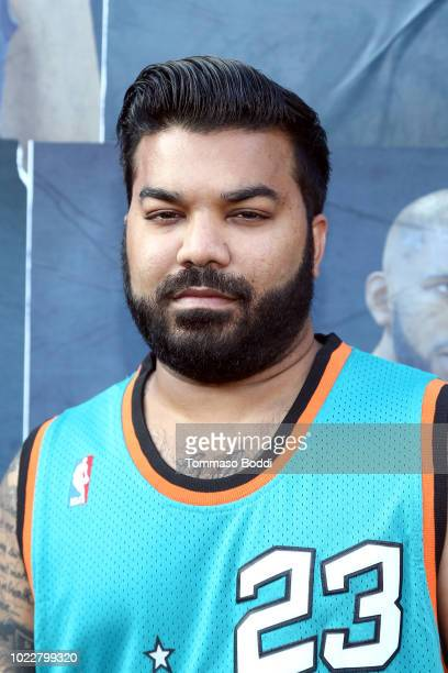 Adrian Dev attends EA SPORTS NBA Live 19 at Goya Studios on August 24 2018 in Los Angeles California