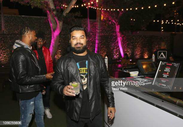 Adrian Dev attends Espolòn Celebrates Day of the Dead at Academy Nightclub on November 1 2018 in Hollywood California