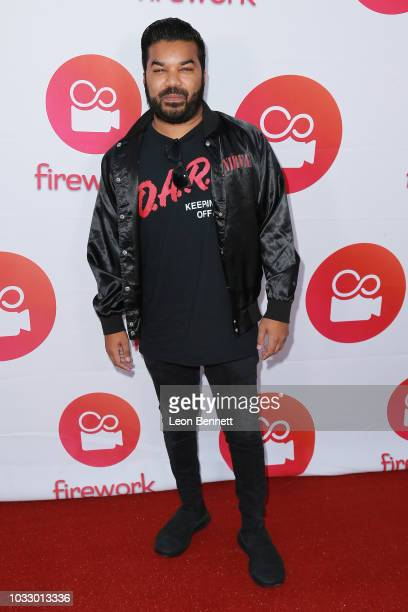 Adrian Dev attends Loop Now Technologies And Two Bit Circus Celebrate The Launch Of Firework Mobile App at Two Bit Circus on September 13 2018 in Los...