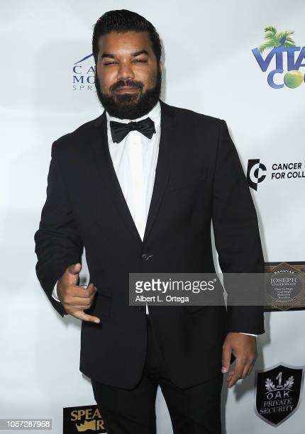Adrian Dev attends Star For A Night To Benefit Cancer For College held at The Vortex on November 3 2018 in Los Angeles California