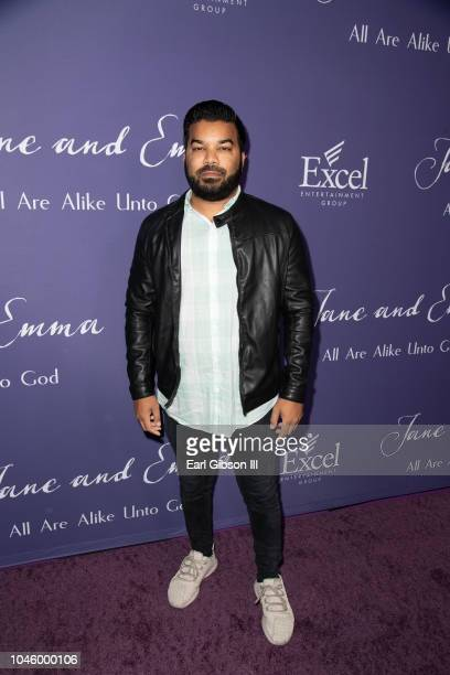 Adrian Dev attends the 'Jane Emma' Special Screening at ArcLight Hollywood on October 4 2018 in Hollywood California