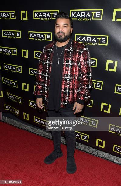 Adrian Dev attends the Karate Combat Hollywood livestreaming karate competition at Avalon on January 24 2019 in Hollywood California