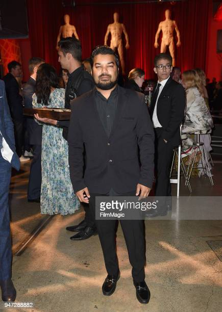 Adrian Dev attends the Los Angeles Season 2 premiere of the HBO Drama Series WESTWORLD at The Cinerama Dome on April 16 2018 in Los Angeles California