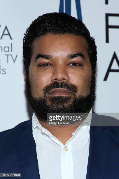 Adrian Dev attends the National Film and Television Awards Ceremony at Globe Theatre on December 05 2018 in Los Angeles California
