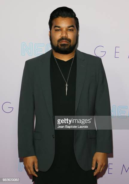 Adrian Dev attends the Neon Los Angeles premiere of 'Gemini' on March 15 2018 in Los Angeles California