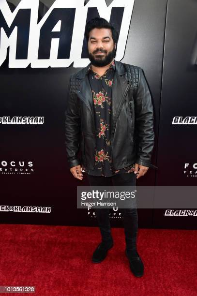 Adrian Dev attends the Premiere Of Focus Features' 'BlacKkKlansman' at Samuel Goldwyn Theater on August 8 2018 in Beverly Hills California