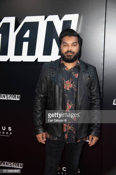 Adrian Dev attends the Premiere Of Focus Features 'BlackkKlansman' at Samuel Goldwyn Theater on August 8 2018 in Beverly Hills California