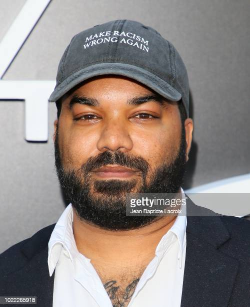 Adrian Dev attends the premiere of Netflix's 'Ozark' Season 2 at the Arclight Theatre on August 23 2018 in Los Angeles California
