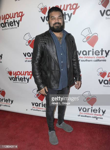 Adrian Dev attends Young Variety's 13th Annual Pool Tournament Honoring Tony Cheng held at Fantasia Billiards on February 27 2019 in Burbank...