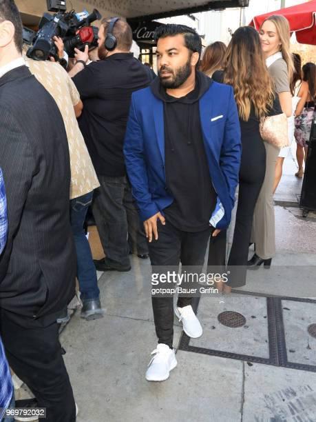 Adrian Dev is seen on June 07 2018 in Los Angeles California