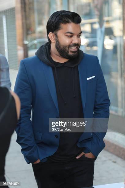 Adrian Dev is seen on June 7 2018 in Los Angeles CA