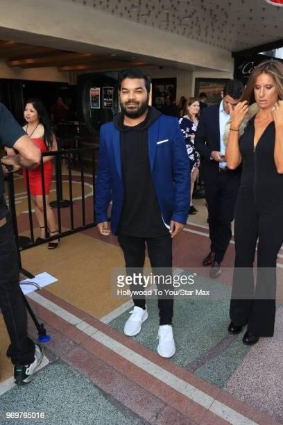 Adrian Dev is seen on June 7 2018 in Los Angeles California