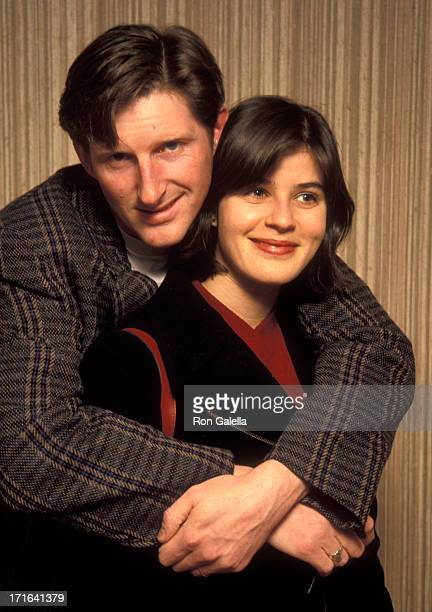 Adrian Dunbar and Irene Jacobs attend 17th Annual Los Angeles Film Critics Circle Awards on January 21 1992 at the Belage Hotel in West Hollywood...
