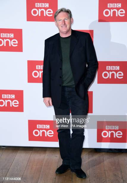 Adrian Dunbar attending a photocall for series five of BBC's Line of Duty held at the BFI Southbank in London