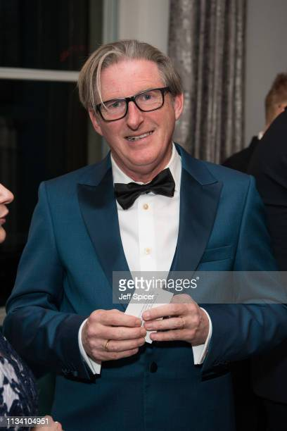 Adrian Dunbar attends a dinner to mark St Patrick's Day and celebrate UKIrish relations on March 06 2019 in London United Kingdom