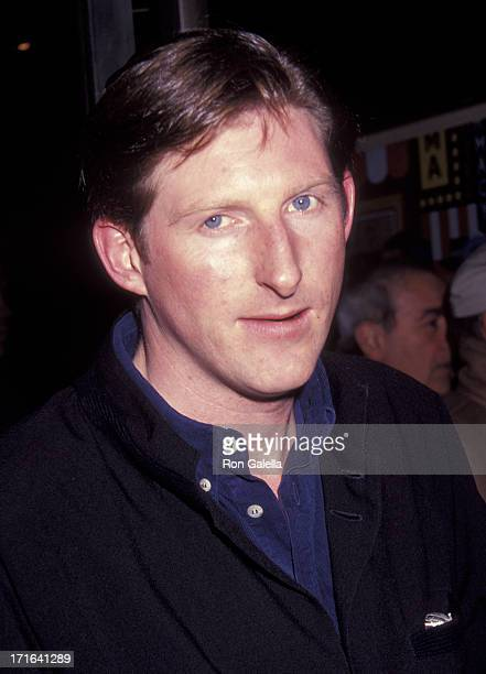 Adrian Dunbar attends the premiere of 'Hear My Song' on January 15 1992 at the 57th Street Theater in New York City
