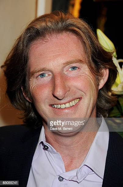 Adrian Dunbar attends the press night of 'Girl With A Pearl Earring' at the Theatre Royal Haymarket on September 29 2008 in London England