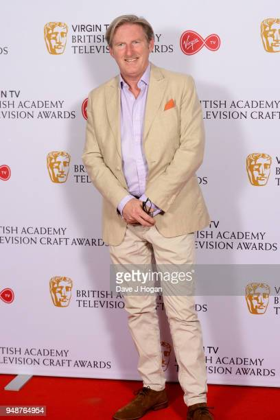 Adrian Dunbar attends the Virgin TV BAFTA nominees' party at Mondrian London on April 19 2018 in London England