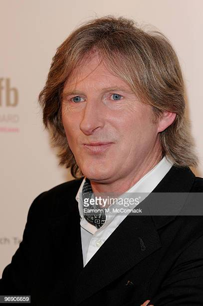 Adrian Dunbar poses in the Awards Room at The 7th Annual Irish Film And Television Awards at the Burlington Hotel on February 20 2010 in Dublin...