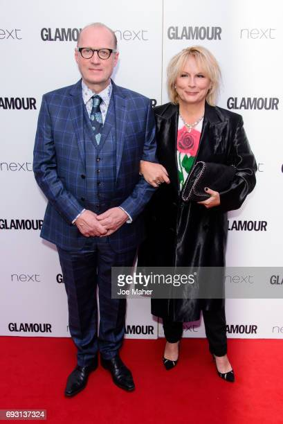 Adrian Edmondson and Jennifer Saunders attend the Glamour Women of The Year awards 2017 at Berkeley Square Gardens on June 6 2017 in London England