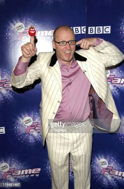 Adrian Edmondson during Comic Relief Does Fame Academy 2005 Grand Finale at BBC Television Centre in London Great Britain