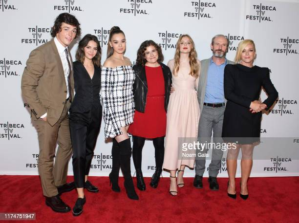 Adrian Enscoe Ella Hunt Hailee Steinfeld Alena Smith Anna Baryshnikov Toby Huss and Jane Krakowski attend the Dickinson screening during the 2019...