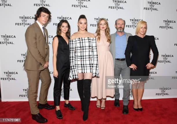Adrian Enscoe Ella Hunt Hailee Steinfeld Anna Baryshnikov Toby Huss and Jane Krakowski attend the Dickinson screening during the 2019 Tribeca TV...
