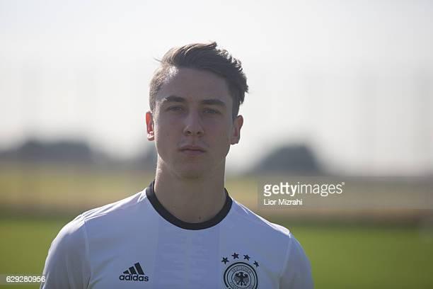 Adrian Fein of Germany U18 national team on December 12 2016 in Shefayim Israel
