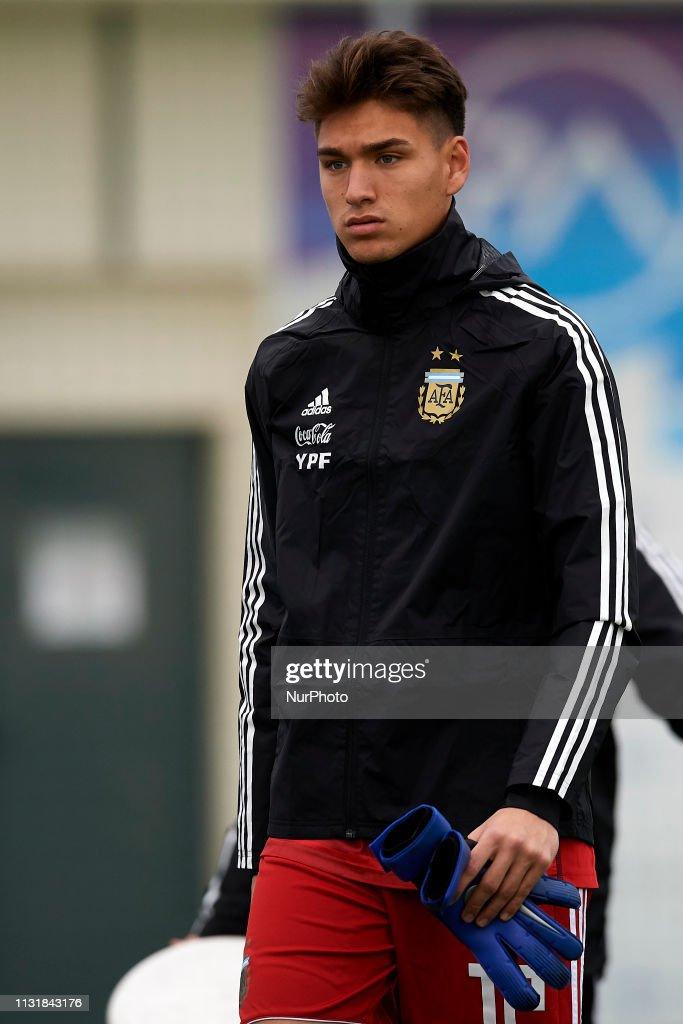 GRC: Argentina v France - International Friendly U20