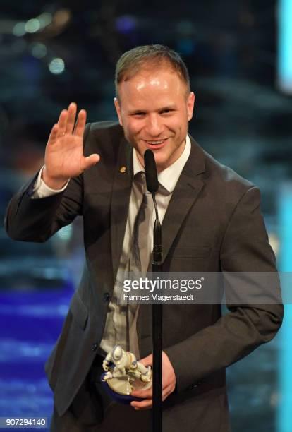 Adrian Goiginger during the Bayerischer Filmpreis 2017 at Prinzregententheater on January 19 2018 in Munich Germany