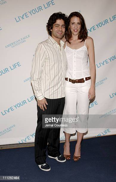 Adrian Grenier and Alexandra Kerry during American Eagle Outfitters 'Live Your Life' Awards Celebration at American Eagle Outfitters Flagship Store...