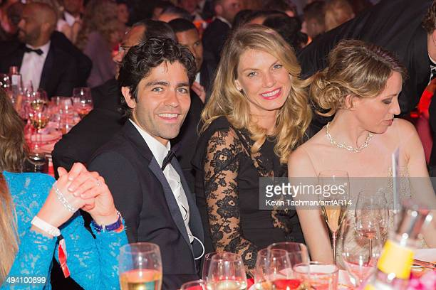 Adrian Grenier and Angela Lindvall attend amfAR's 21st Cinema Against AIDS Gala presented by WORLDVIEW BOLD FILMS and BVLGARI at Hotel du CapEdenRoc...